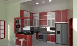 Harga Kitchen Set Aluminium Per Meter Terbaru dan Murah