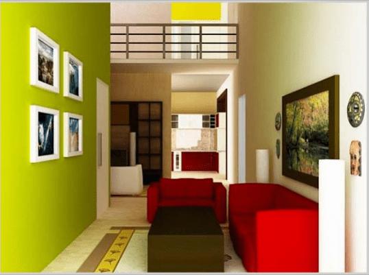 20 Warna Cat  Ruang  Tamu  Agar Terlihat Luas Meski Aslinya