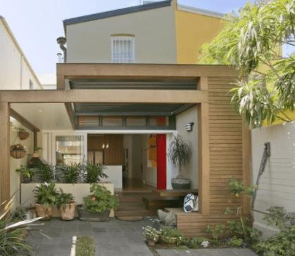 20 Contoh Rumah Minimalis Sederhana Modern Tampak Depan 18 Desain