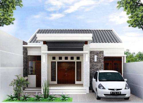 20 Contoh Rumah Minimalis Sederhana Modern Tampak Depan 5 Desain