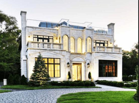 Permalink to 25 Desain Rumah Mewah Eropa Modern Dan Klasik