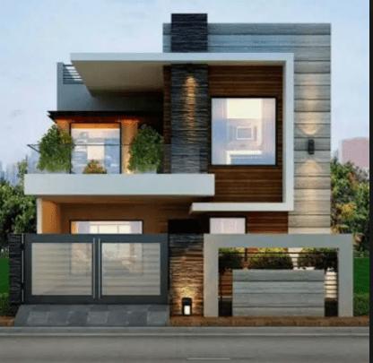 80 Contoh Rumah Minimalis 2 Lantai Modern Sederhana Tampak Depan 17