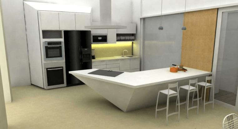 Design Dapur Menyatu Dengan Taman  99 gambar dapur minimalis ukuran 2x3 mungil dan elegan