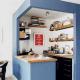 Dapur Minimalis Ukuran 2×2 Meter Sederhana Tapi Elegan