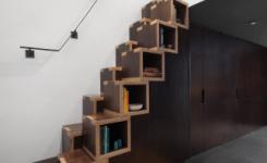 50 Desain Tangga Minimalis Di Ruangan Sempit Paling Unik 11