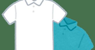 男性用のポロシャツ