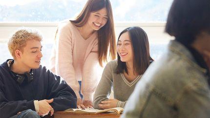 海外留学した日本人女性