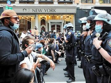 アメリカ人の警察官