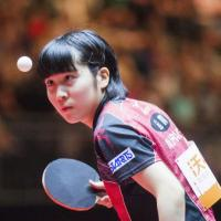 卓球・平野美宇選手、SKE48後藤楽々に「前のめりのころからテレビで見てます😻」