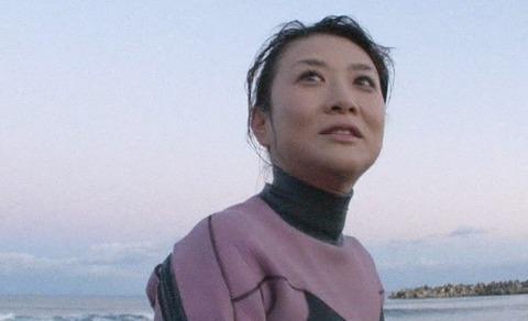 藤崎奈々子とサーフィン