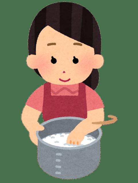 cooking_kome_togu