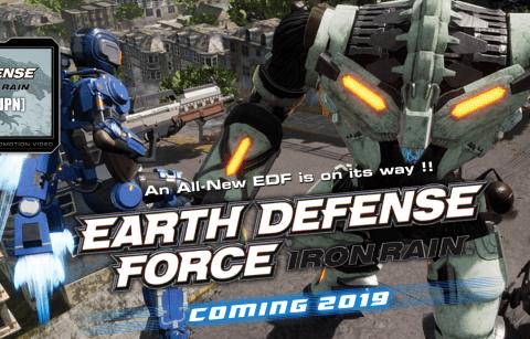 【悲報】地球防衛軍新作「EARTH DEFENCE FORCE: IRON RAIN」が話題にならない