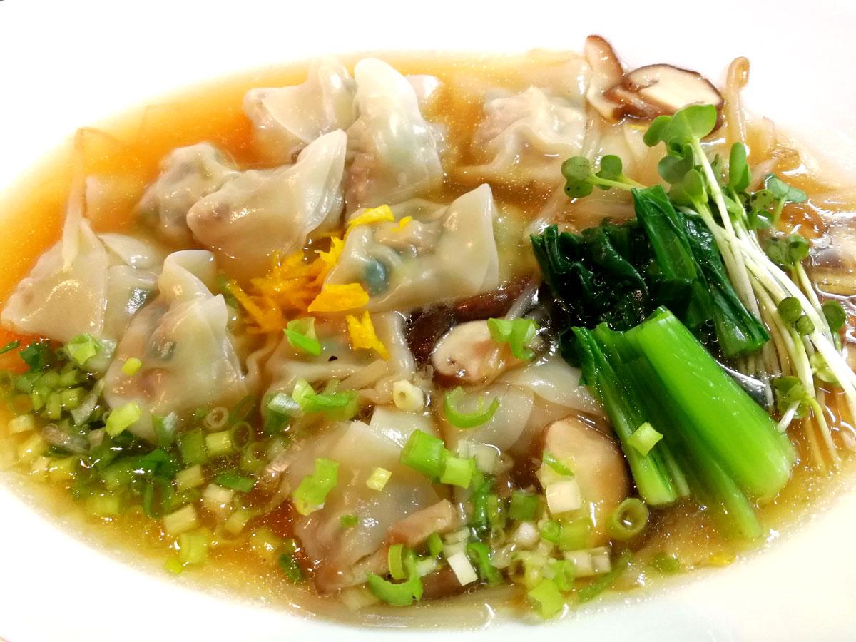 【おうちご飯】あんかけスープの水餃子 : 青木葉 Eatful・Life