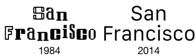 San_Francisco-Font-1984-and-2014