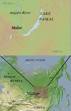 Map of Mal'ta (230x360)