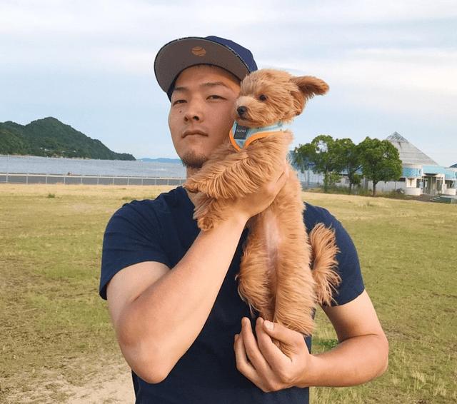 薮田和樹愛犬