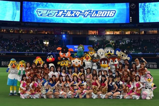 侍ジャパン_12球団マスコット