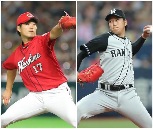 岡田明丈vs岩貞祐太