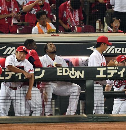 広島カープ今季初3連敗