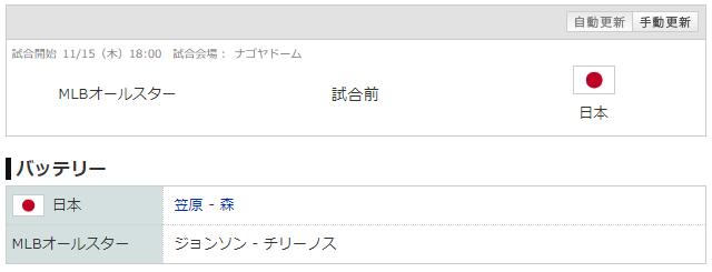 日米野球_笠原_ジョンソン