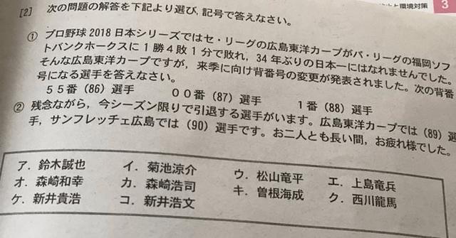 広島県高校テストカープ