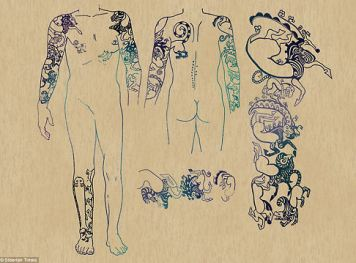 tattoos of a Siberian princess 04