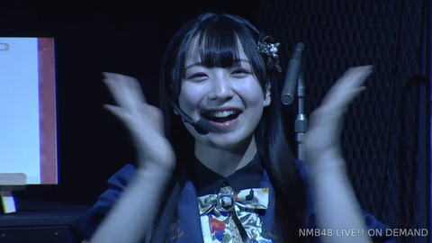 【NMB48】「#みっくすじゅーす」劇場公演でこはたんこと折坂心春がアンコール発動www