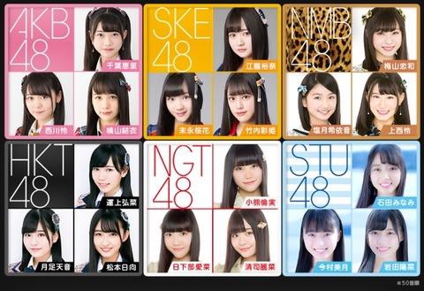 【AKB48G】やはり姉妹グループの乱立はHKTで止めておくべきだった