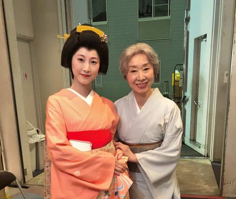 【朗報】平成の大女優三田佳子さんが松井玲奈さんを大絶賛