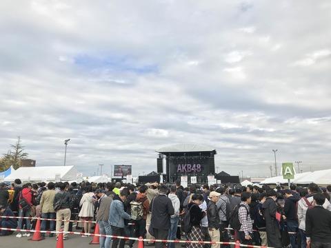 【画像】AKB48全握ライブの客層wwwwww