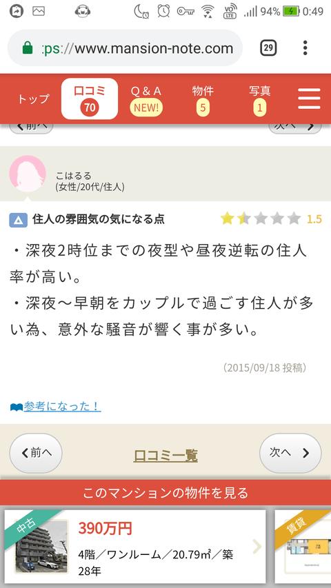 【NGT48】メンバーの寮と思われるマンションの口コミ情報ヤバ過ぎwww