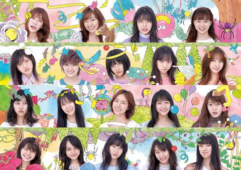 【AKB48】「サステナブル」ジャケ写で顔年齢調べた結果wwwwww