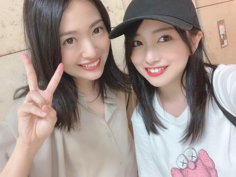 【元NGT48】北原里英さんがお忍びで村雲颯香卒業公演を観覧