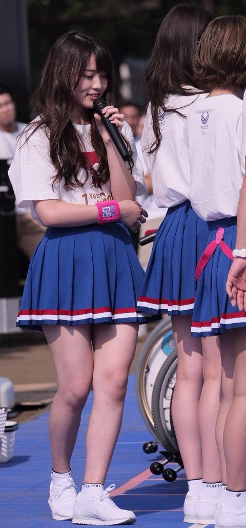【AKB48】チーム8岡部麟ちゃんのムチムチな太ももwww