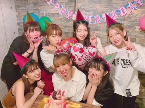 【AKB48】加藤玲奈さんの誕生日会に集いしメンバーがこちら【れなっち】