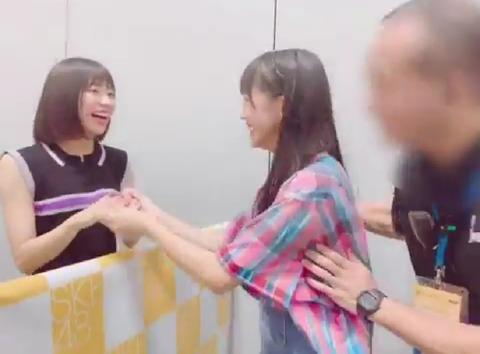 【STU48】俺らの福田朱里ちゃんのお●ぱいが男に触られてるんだが?