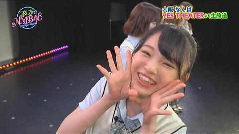 【NMB48】6期研究生新澤菜央「夜方NMB」生放送中に鼻を負傷、当面の間は治療を優先