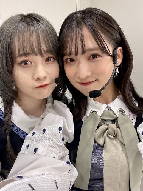 【悲報】ゆいゆいと横山結衣がベッタリ【AKB48・小栗有以】
