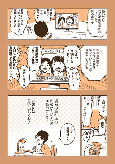 【悲報】「よんぱち+」作者・田辺洋一郎、漫画の印税率を暴露して全編集者に嫌われる