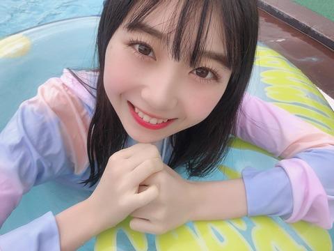 【AKB48】小林蘭、安田叶、長友彩海の水着プール写真キタ━━━━(゚∀゚)━━━━!!