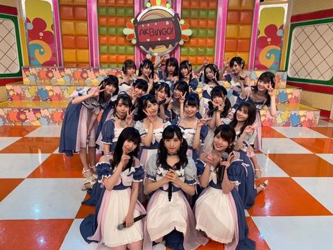 【AKB48G】各グループの代表選手4人ってこれで良いの?