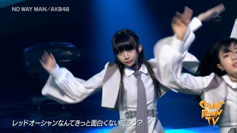 【画像】NGT48荻野由佳さん、バンザイした拍子にパンツの中が映る放送事故www