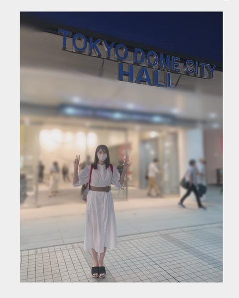 【STU48】瀧野由美子さん、しばらく東京滞在で嬉しいことがある模様…