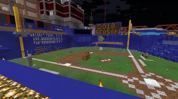 マインクラフト野球場