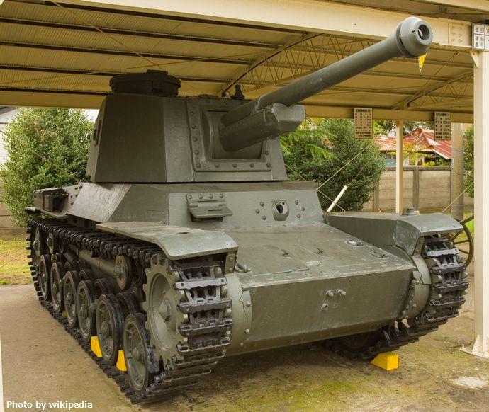 Japanese_Type_3_Chi-Nu_tank_1