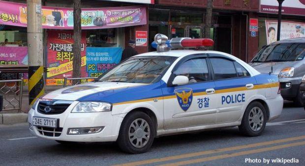Police_car_in_Wonju,_South_Korea