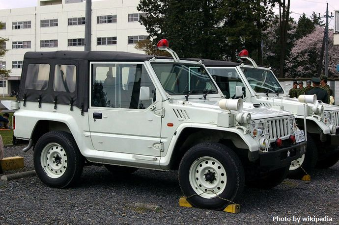 JGSDF_Type73_(new)_Kogata_Truck_(MP_vershion)