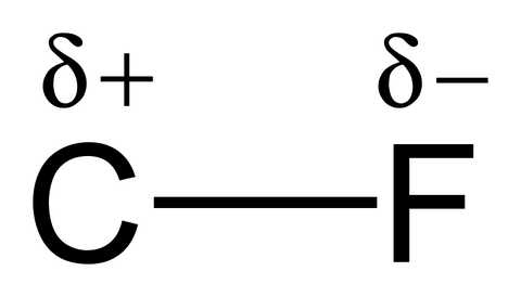 Carbon-fluorine-bond-polarity-2D-black