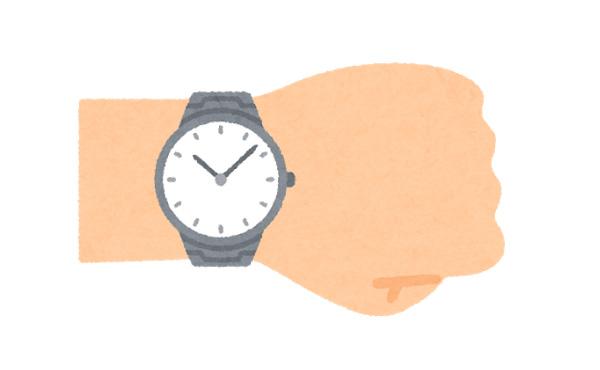 当てれるもんならワイの腕時計の値段当ててみ