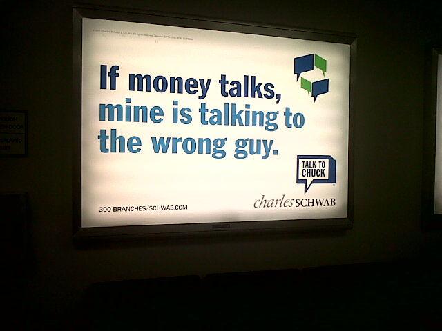 ニューヨーク駐在英語 : 広告シリーズ 「金がものを言う」